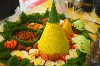 ꦠꦸꦩ꧀ꦥꦼꦁ : Indonesian Rice Cone