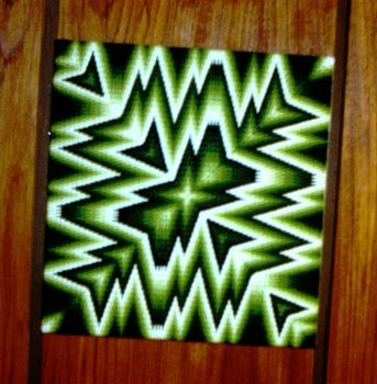 4-way bargello needlepoint - 2