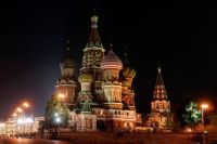 St. Basil's Cathedral, Moscow, Russia (Daily Challenger)