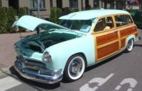 1950 Ford Meteor Woody
