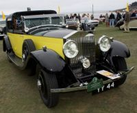 1931 Rolls Royce Phantom II Barker Sedanca de Ville used in The Yellow Rolls Royce film