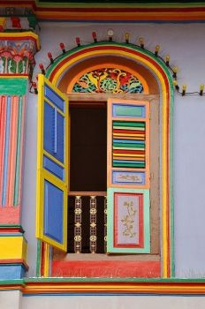 Door of many colors