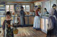 In the Village Shop in Vrengen