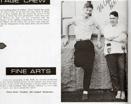 1963-1966 Year Book  - does anyone know them?