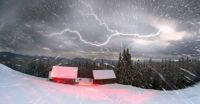 thunder snow on the summer solstice