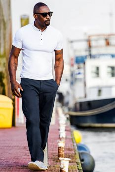 Dudes looking cool 1: Idris Elba