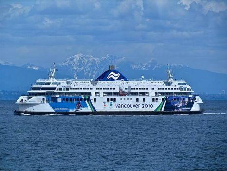 OLYMPIC FERRY DESIGN - VANCOUVER, BC  -2010