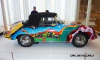 Janis Joplin's Porsche at Houston Auto Show