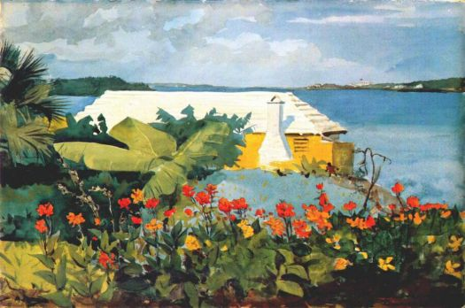 Bermuda Bungalow by Winslow Homer