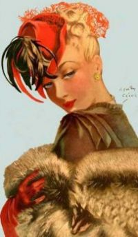 Henry Clive Art - Vintage Hairstyle