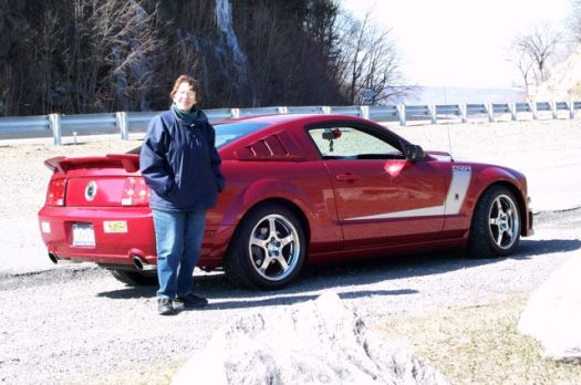 My wife and my 2007 Roush 427R