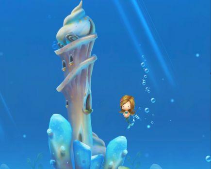 Tiki mermaid 2