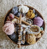 Basket of Yarn