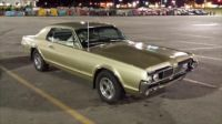 My new old car 1967 Cougar