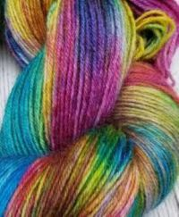 Dyed Yarn for Knitting