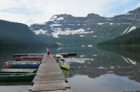 Crandall Lake, Waterton Park, Canada
