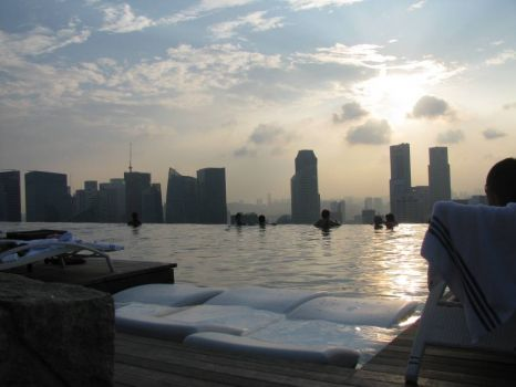 The Infinity Pool @ Marina Bay Sands Singapore
