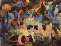 August-Macke- Painting