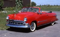 1951 Ford Meteor stock grill Convertible Red