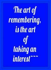 Taking an interest . . . . .