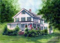 White Country Farmhouse