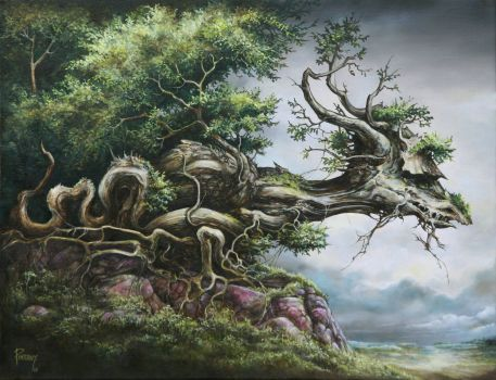Dragon Tree by Pinervy
