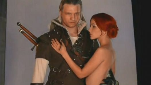 Geralt and Triss - The Witcher