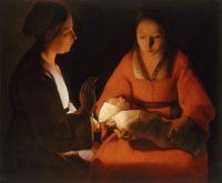 George de La Tour: El recién nacido, 1645/8