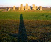 Long Shadow at Stonehenge 120512 at 1530