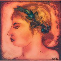Ancient Greek woman  ( Digital drawing )
