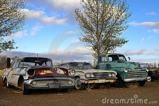 Vintage 22 - Rusty Olds, Buick, Chevy