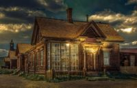 J S Cain house in Bodie by Terri Geissinger