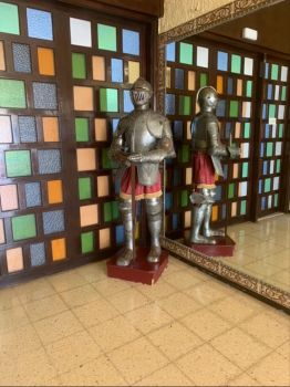 Knight and shining armour
