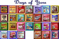 Cereal Boxes of Yore