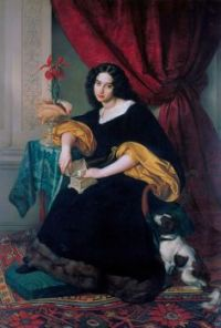 Portrait of Pauline Hübner - 1829