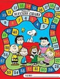 Theme: Peanuts Success Chart numbers