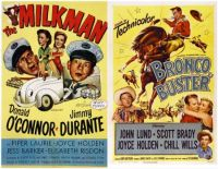Joyce Holden ~ The Milkman ~ 1951 and Bronco Buster ~ 1952