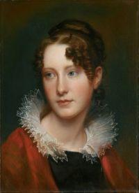 Rembrandt Peale Portrait of Rosalba Peale circa 1820