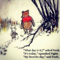 My Favorite Day Said Pooh