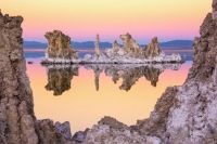Mono Lake Through A Tufa Frame, photograph by Joe Doherty