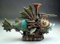 FUNKY STEAMPUNK-Y FISH