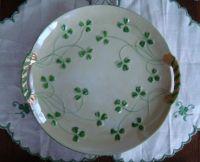 Shamrock Cake Plate