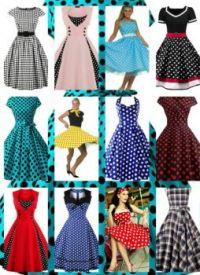 VINTAGE DRESSES (710)