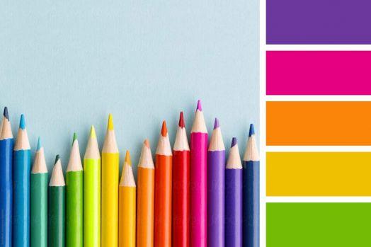 Spectrum of Rainbow Pencils