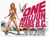 ONE MILLION YEARS B.C. - 1965 POSTER  RAQUEL WELCH, JOHN RICHARDSON