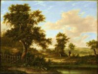landscape in the south of england, 1828