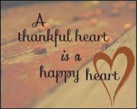 Thankful and Happy Heart