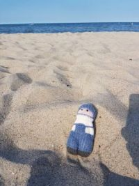 Nils on the Beach - Baltic Sea