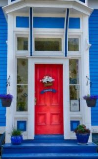 Welcome To A Red Door