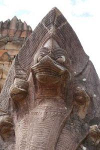 Naga at Buriram, Thailand